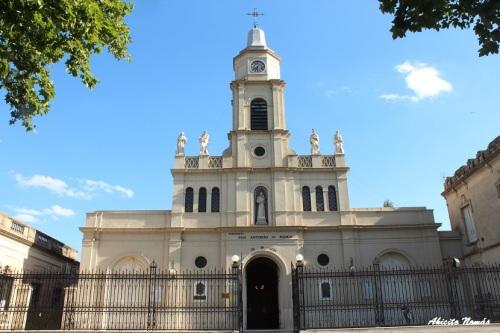La iglesia en honor a San Antonio de Padua dio origen al pueblo.