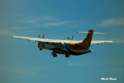 ATR42 BQB despegando