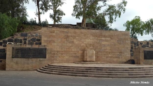 Ingreso al Monumento II