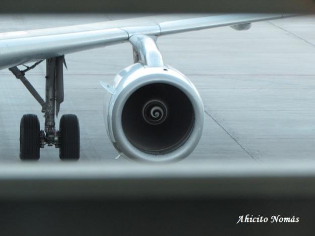 Motores encendidos del A320