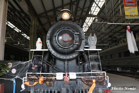 Halloween en el tren