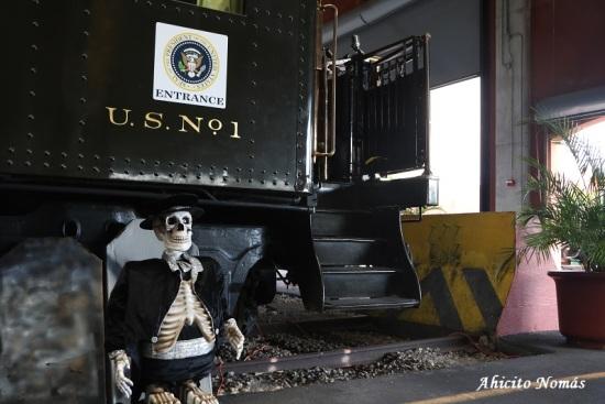 Halloween tren presidencial