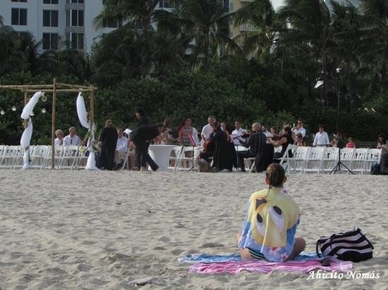 Mirando el casamiento