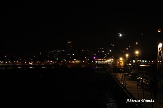 Muelle y la ciudad