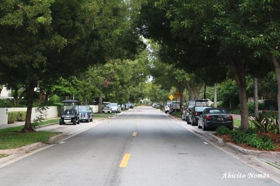Calles de Key Biscayne