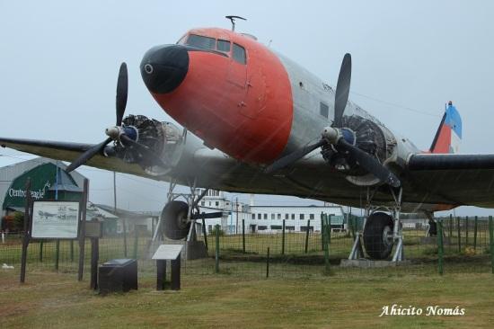 Primer Plano con nieve DC-3