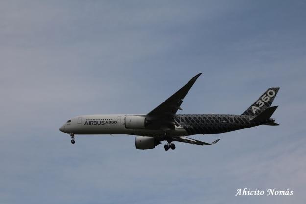 10 - A350 de perfil