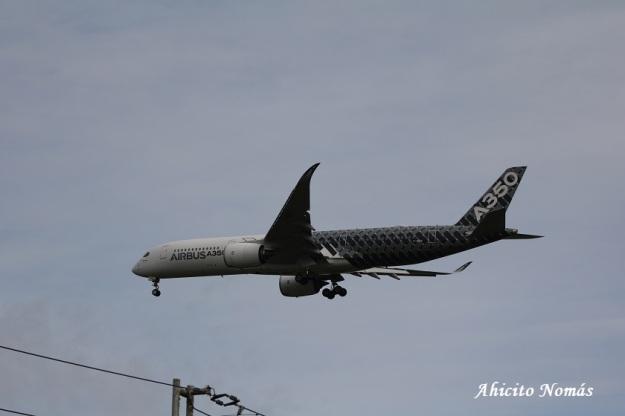 11 - A350 sobre los cables