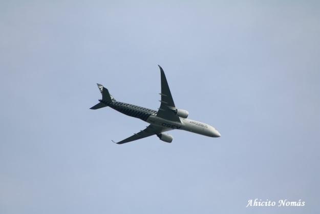 5 - A350 alto sobre nosotros