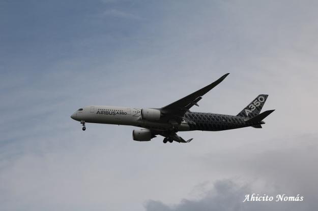 9 - A350 contra las nubes