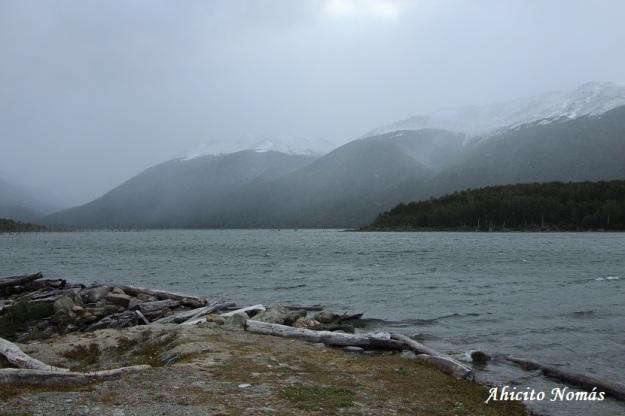 A la orilla del lago