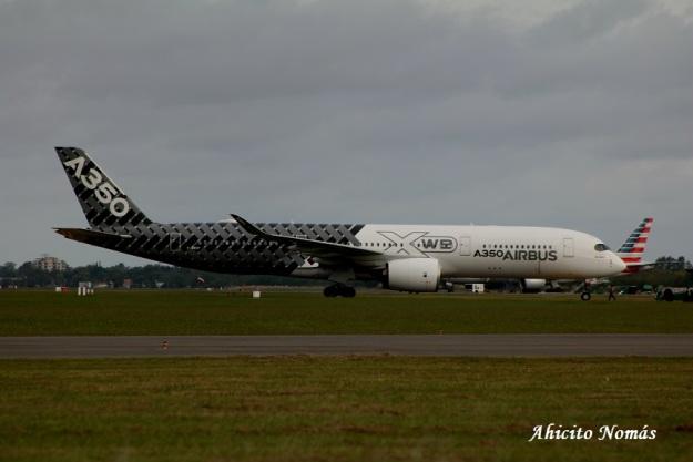 A350 en Plataforma EZE