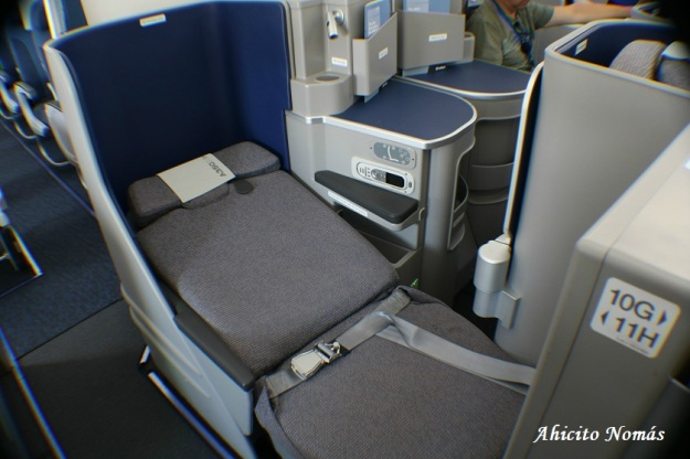 Business asientos