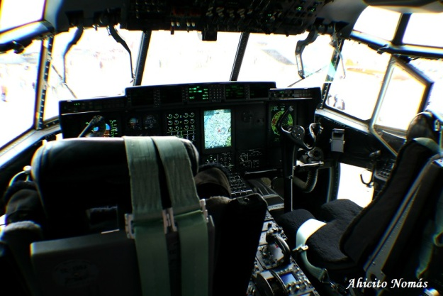 C130 cockpit