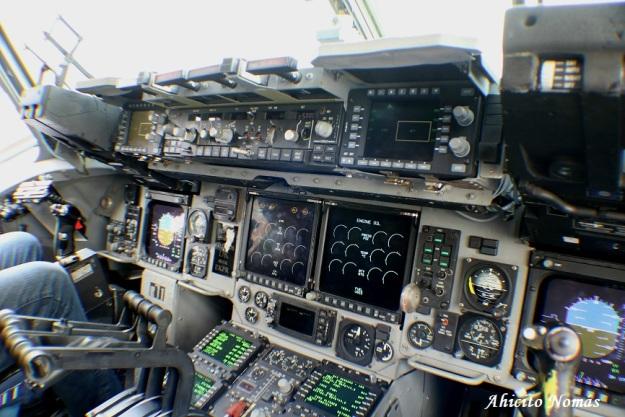 C17 desde copiloto
