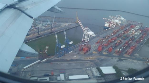 El Puerto desde el aire