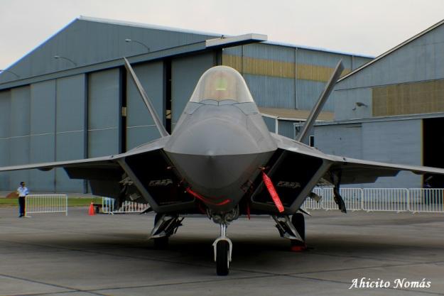 Frente a frente con F-22