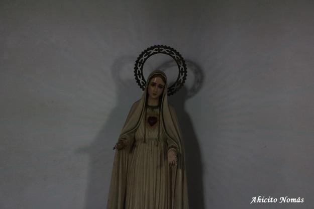 Virgen con rayos