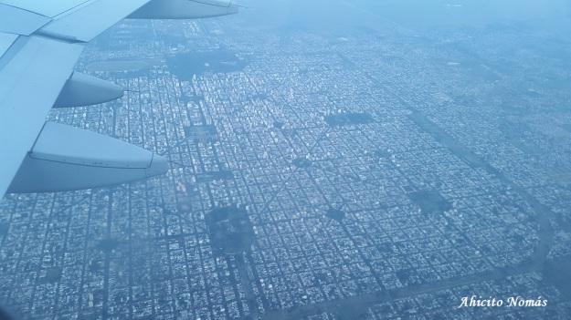 Volando sobre La Plata