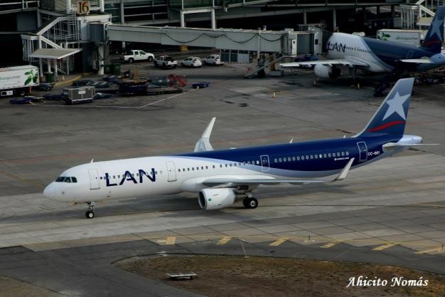 A321 Lan CC-BEI rodando