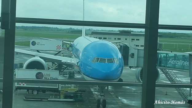 B777 KLM en EZE