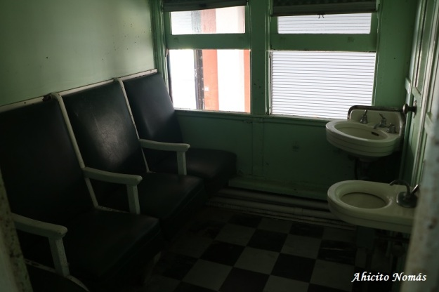 Baño del Florida East Coast Railway