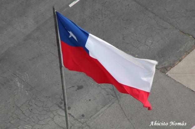Bandera desde la torre