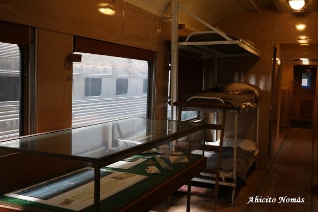Camas tren hospital