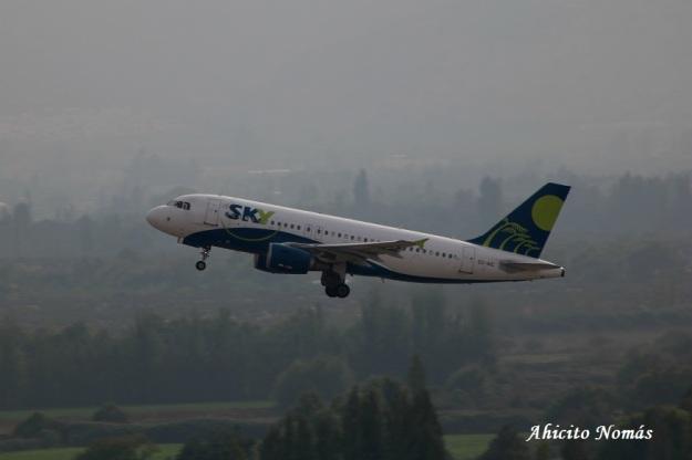 CC-AIC Sky despegando