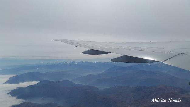 Cruzando los Andes