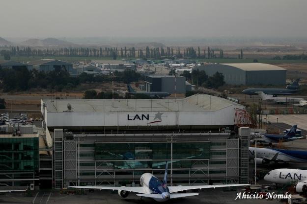 Hangar LAN desde la torre