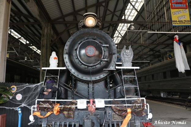 Locomotora 153 Halloween