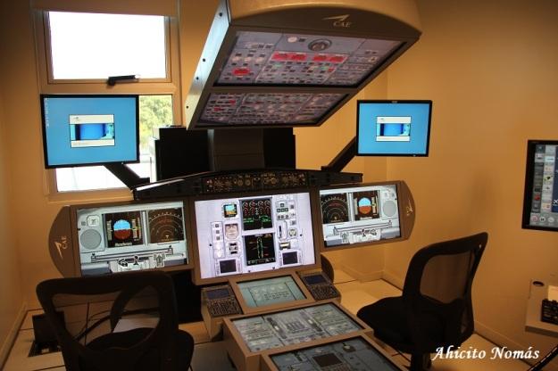 Simulador Estatico Airbus