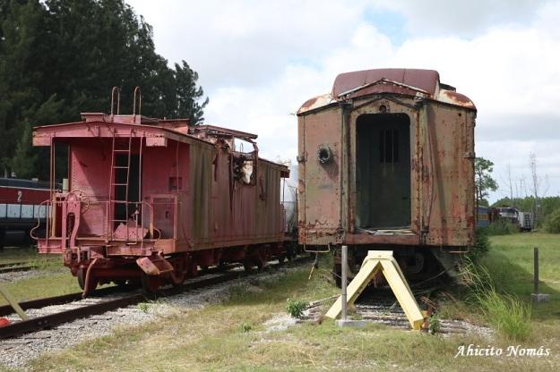 Trenes abandonados