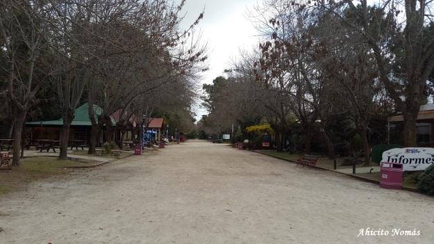 Calle principal Termas