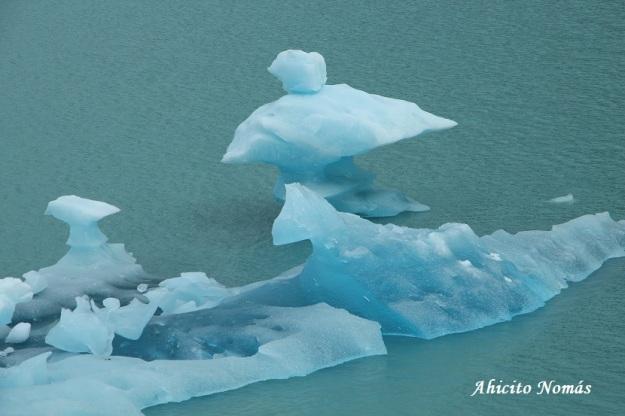 Formas en el hielo