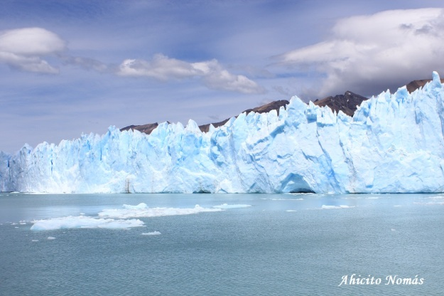 Perito Moreno - Desprendimiento a la izquierda