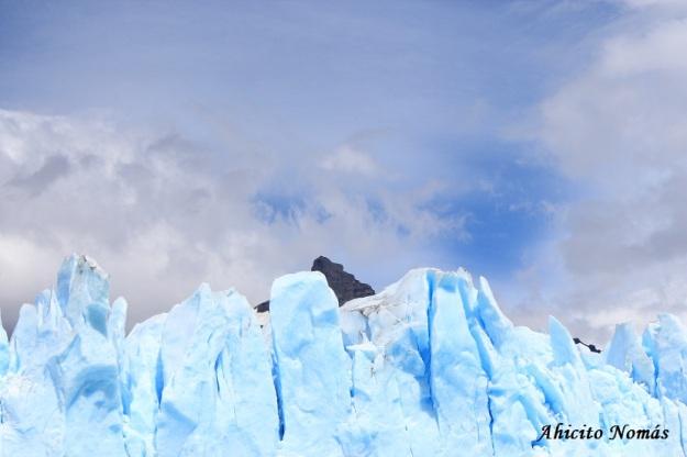 Perito Moreno - Hielo y nubes