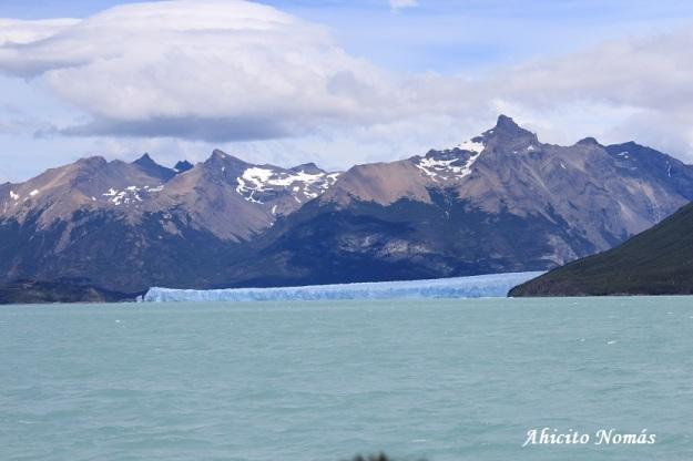 Perito Moreno - llegando
