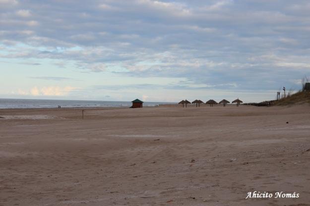 Playa desierta