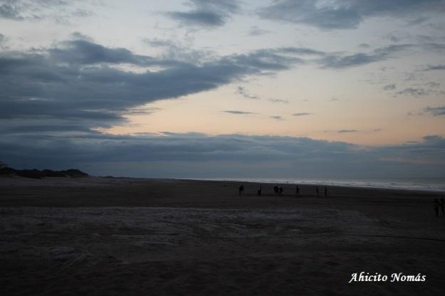 Playa y cielo
