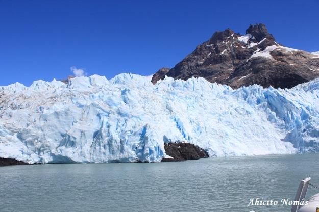 Spegazzini - pared de hielo