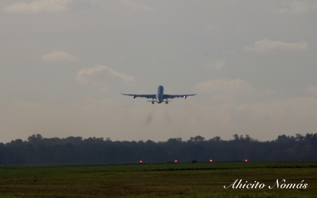 A340 despegando