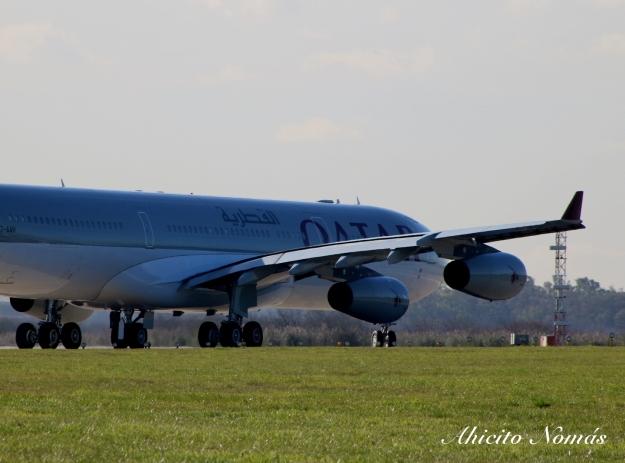 A340 primer plano