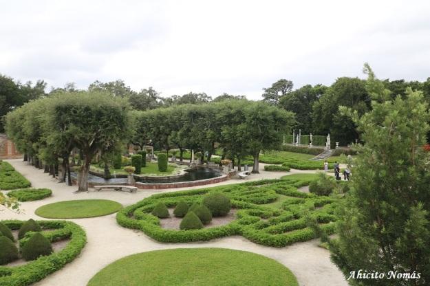 Panoramica del jardin